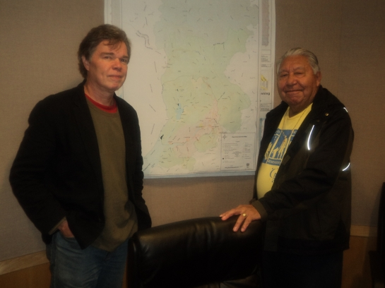 With Dr. Joseph Gosnell
